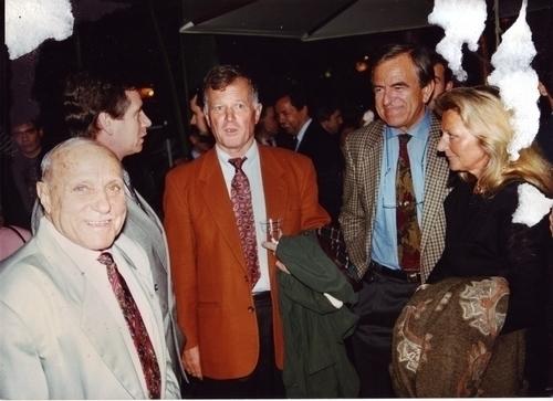 JOJO avec son ami le spationaute Jean Loup CHRETIEN