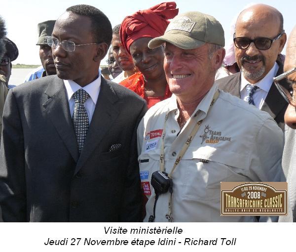 transafricaine Visite_ministrerielle