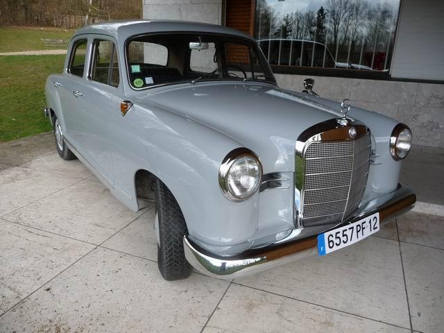 Mercedes type 1953