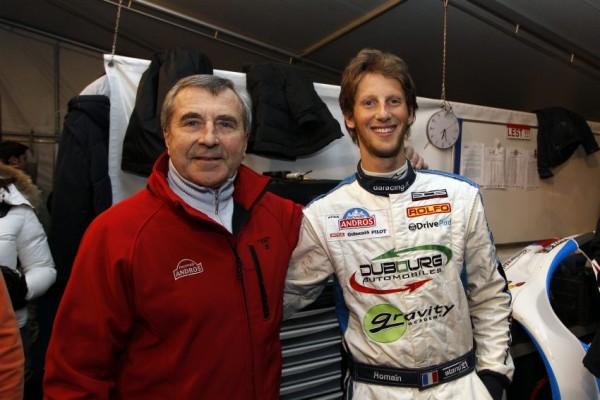 Trophée ANDROS  - ISOLA  - Max  MAMERS et Romain GROSJEAN - photo Bernard BAKALIAN