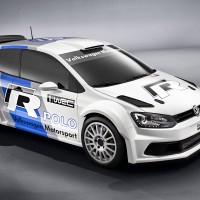 2011 VW POLO WRC face avant