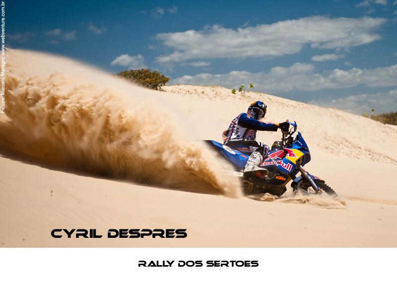 RALLYE BRESIL 2011 DESPRES Dunes last day