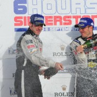 ILMC SILVERSTONE 2011  Podium Bourdais Pagenaud
