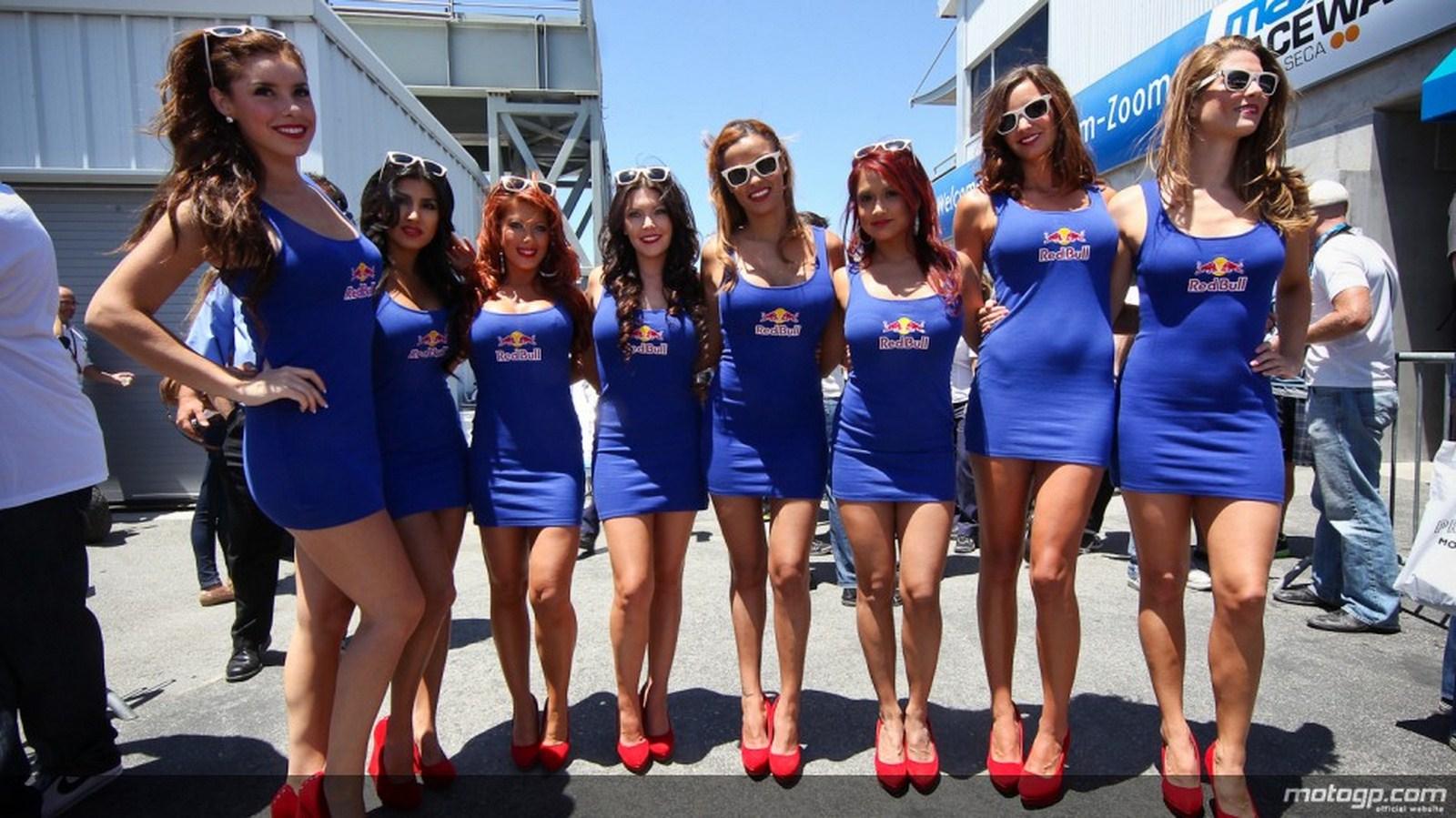 Red Bull Grid Girls - Hot Girls Wallpaper