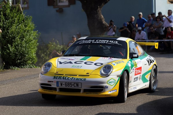 Gilles NANTET et sa Porsche Yacco