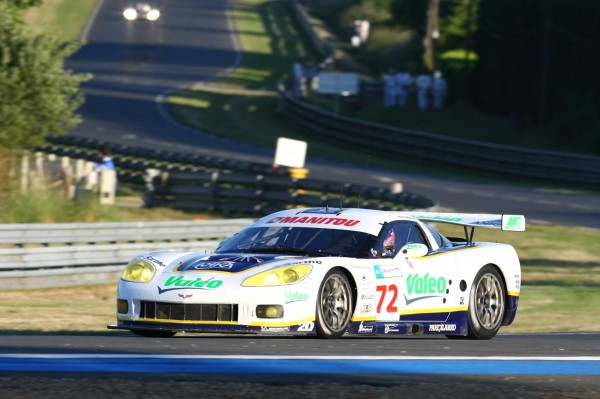 24 HEURES du MANS 2008 - La CORVETTE du Team LAA de Luc ALPHAND Photo : Thierry COULIBALY