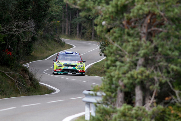 CATALOGNE 2010 LATVALA FORD route en virages