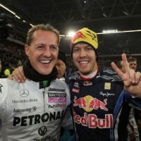 COURSE DES CHAMPIONS Michael Schumacher - Sebastian Vettel