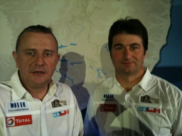 DAKAR - Etienne LAVIGNE et David CASTERA