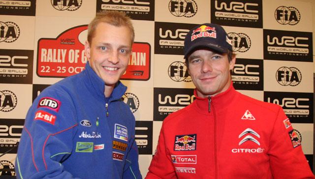 WRC RAC Seb et mikko