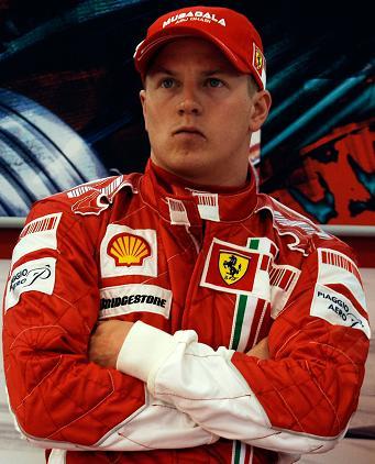 Pilotes F1 Kimi Raikkonen