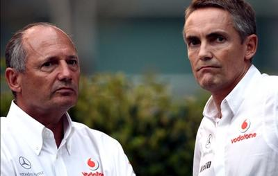 Les BOSS de MCLAREN Ron DENIS et Martin WHITMARSH