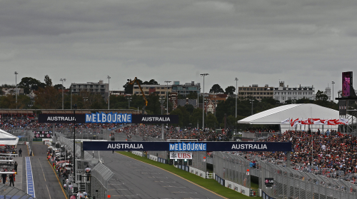 AUSTRALIE MELBOURNE F1 2012 ligne de depart