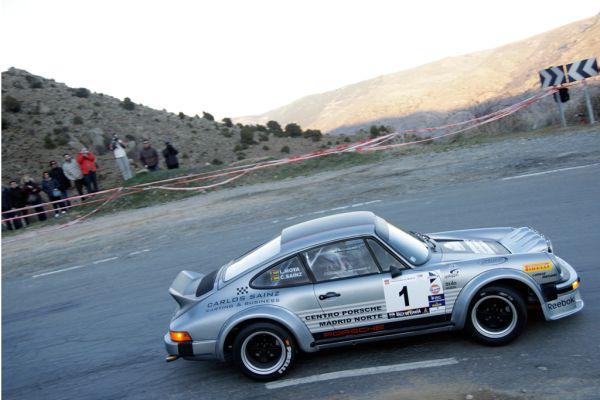 Carlos Sainz Porsche GACHE Rallye Espagne histo 2012