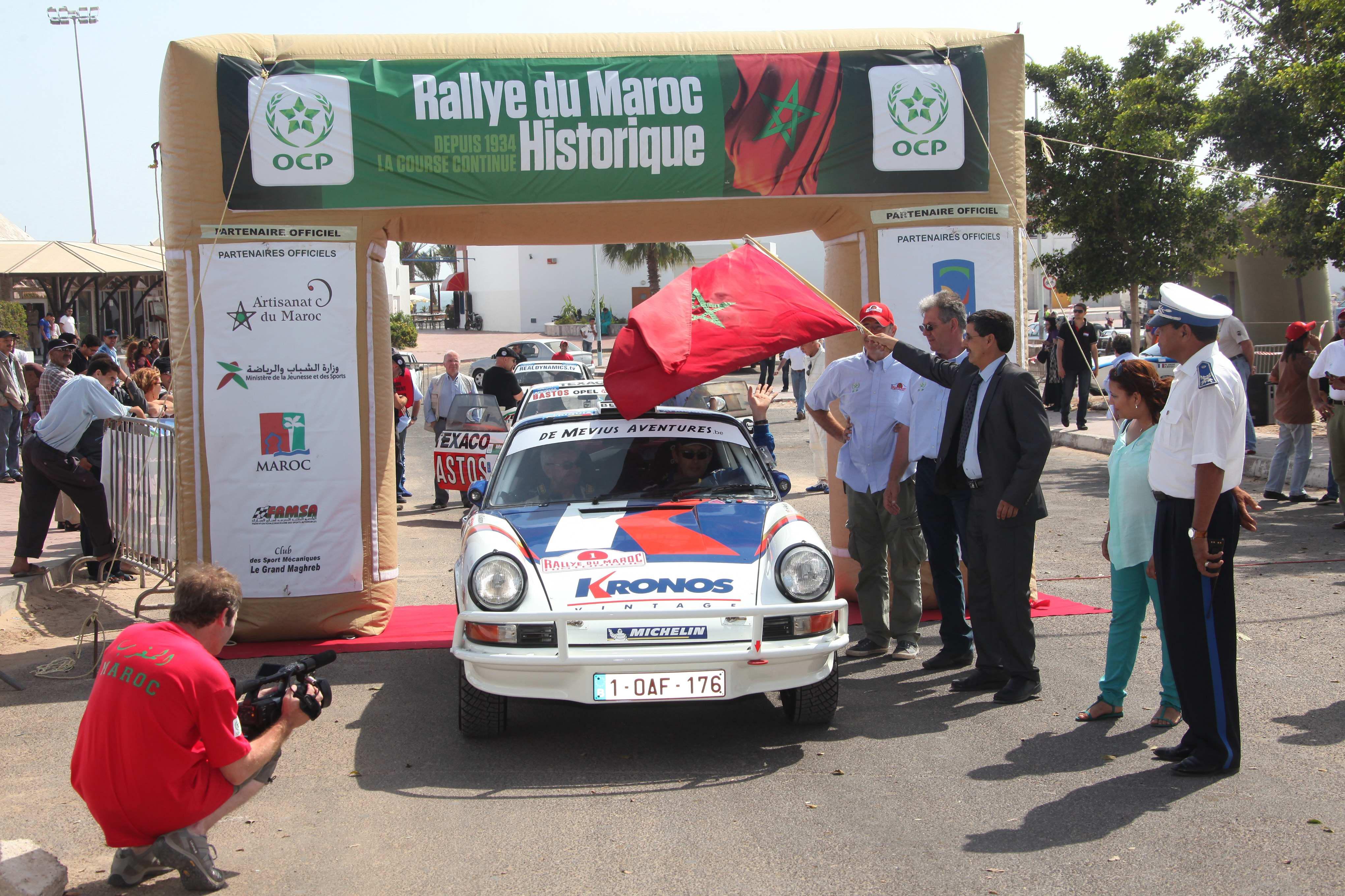 MAROC HISTO 2012  PORSCHE Gregoire de MEVIUS