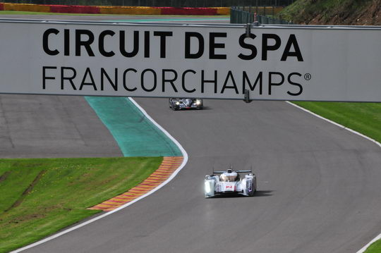 WEC SPA 2012 Qualification Spa avec Audi 2