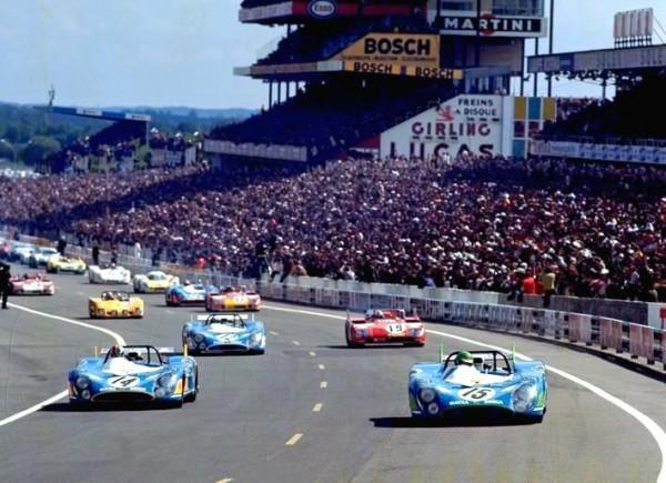Porsche 917 ça vous cause ? - Page 5 MATRA-Depart-des-24-H-du-MANS-1972-photo-Michel-PICARD-autonewsinfo1-600x435