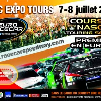 RACE CAR 2012 NASCAR A TOURS AFFICHE annonce course des 7 et 8 juillet autonewsinfo