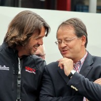 24 HEURES DE SPA Stphane Ratel et Pierre Alain Thibaut, espectivement patron du SRO et du Circuit de Spa peuvent tre contents- Manfred GIET autonewsinfo