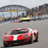 LE MANS CLASSIC 2012 FORD GT 40 Jim FARRLEY et Loic DEPAILLER photo Gilles VITRY autonewsinfo