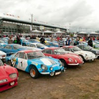 Le Mans Classic 2012 Berlinettes Alpine Photo Michel Picard Autonewsinfo