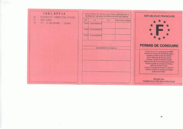 Permis de conduire invalide que faire vote la vente de for Trouver un permis de construire sur internet