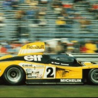 RENAULT ALPINE a442 1978 24 h du MANS