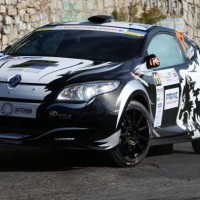 IRC 2012 RALLYE YALTA ROBERT CONSANI MEGANE RS SECOND