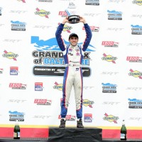 IndyLights Baltimore 2012  Podium VAUTIER