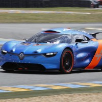 LE MANS CLAASSIC 2012 CONCEPT CAR ALPINE EN PISTE photo Gilles VITRY pour autonewsinfo