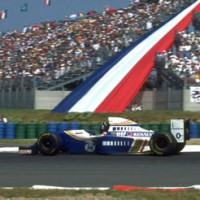 MAGNY COURS GP FRANCE F1 WILLIAMS