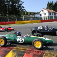 SIX H SPA Historique  2012 La Lotus 25 ex Jim Clark en action Photo  Manfred GIET autonewsinfo