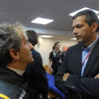 ALAIN PROST et STEPHANE CLAIR au PAUL RICARD le 30 Sept 2012 photo autonewsinfo
