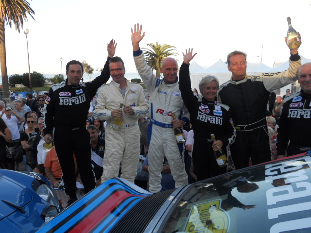 CORSE HISTO 2012 Podium ILE ROUSSE les 3 premiers  autonewsinfo