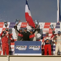 GT TOUR 2012 Finale PAUL RICARD Course 2 podium Photo Gilles VITRY