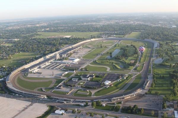 Indianapolis vu du ciel