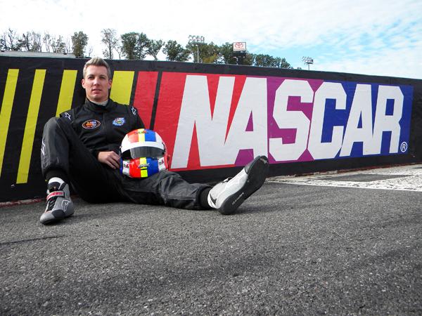 JULIEN JOUSSE NASCAR 1 Photo Com 'On