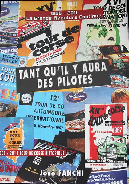 LIVRE TOUR DE CORSE JOSE FANCHI Couverture