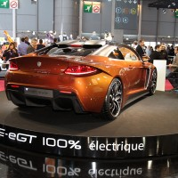 MONDIAL AUTO 2012 Elec FURTIVE EXAGON bronze photo Patrick MARTINOLI autonewsinfo