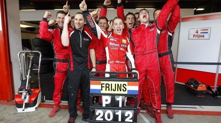 WSR 2012 BARCELONE FRIJNS decroche le titre