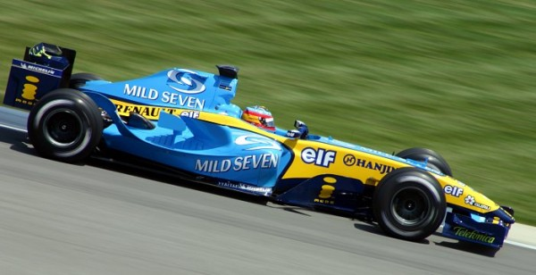 BENETTON-RENAULT-Alonso-US-GP2005.