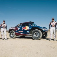 DAKAR 2012 BUGGY TEAM RED BULL QATAR desert NEVADA Test