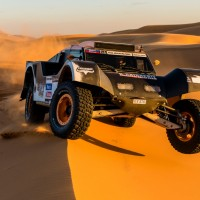 DAKAR 2013 TEST GUERLAIN CHICHERIT AU MAROC dune erfoud nov Photo TristanShu