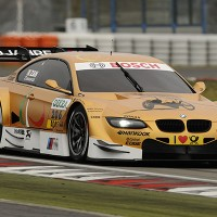 ZANARDI essai e la BMW DTM au NURBURGRING 8 Nov 2012 Photo Manfred GIET pour autonewsinfo
