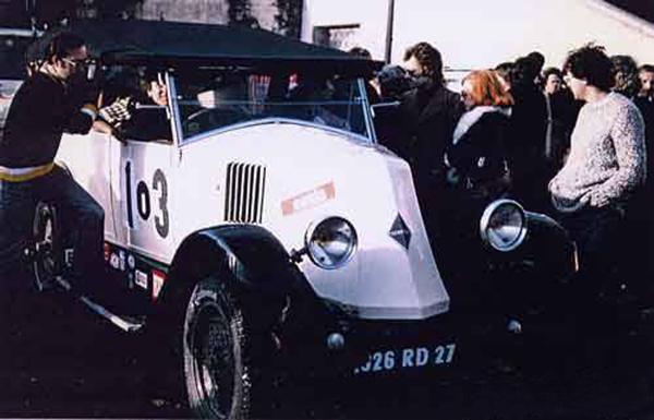 DAKAR 1978 1979 La RENAULT KZ photo Dakar dantan