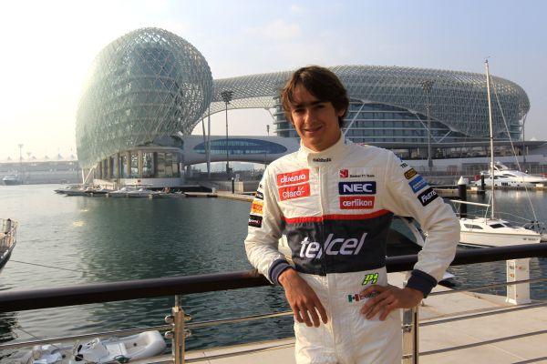 Young Drivers F1 Test Abu Dhabi 06-08/11/12