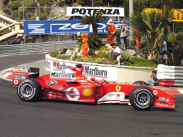 F1 FERRARI RUBENS BARRICHELLO GP MONACO