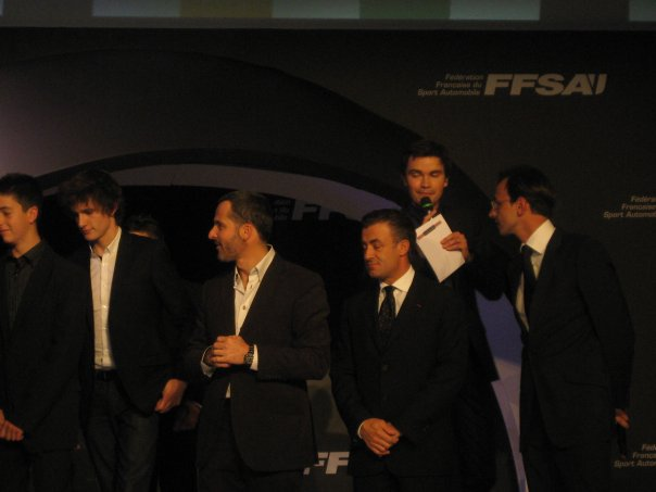 FFSA remise des  prix Yvan Muller Jean Alesi Nicolas Deschaux FFSA