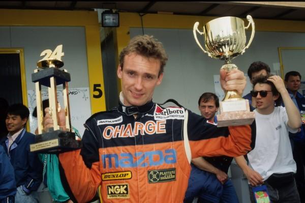 GACHOT Victoire aux 24 Heures du Mans en 1991 Son plus beau souvenir dans sa carrière © Manfred GIET pour autonewsinfo