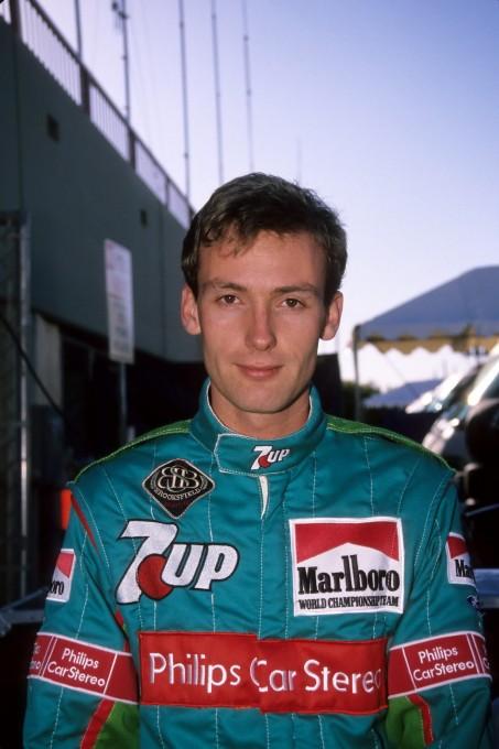 GACHOT pilote JORDANF1 en  1991 © Manfred GIET pour autonewsinfo